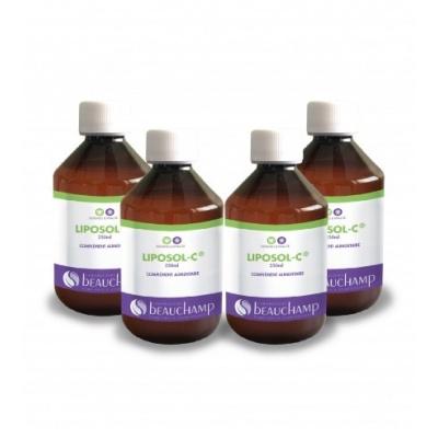 Liposol-C® - Vitamine C liposomale Pack 4 x 250 ml
